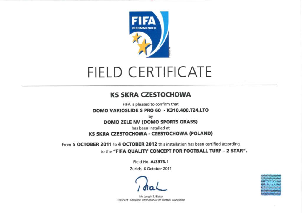 certyfika-fifa-2star