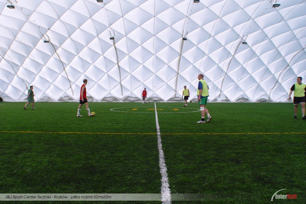 Hala piłkarska InterHall - J&J Skotniki