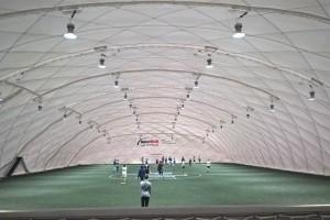 Hala piłkarska InterHall – tym razem w Gdyni.