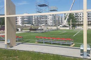 Budowa przykrycia płyty boiska piłkarskiego na terenie stadionu miejskiego, przy ul.1 Maja 16 w Piasecznie
