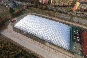 Hala w Kielcach przy SP 27 już stoi